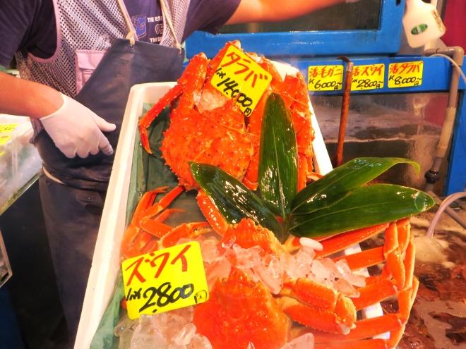 Crab at the Market