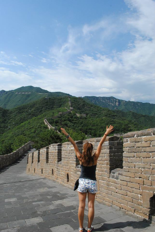 conquering the Great Wall after traveling with anxiety