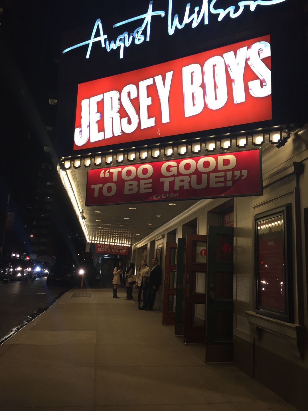 see Jersey Boys on your cheap trip to NYC