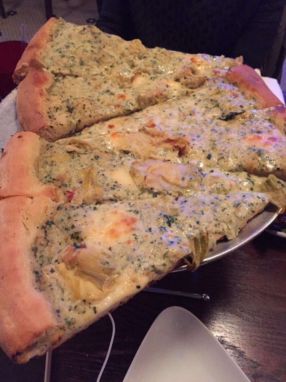 artichoke pizza in Chelsea, NYC