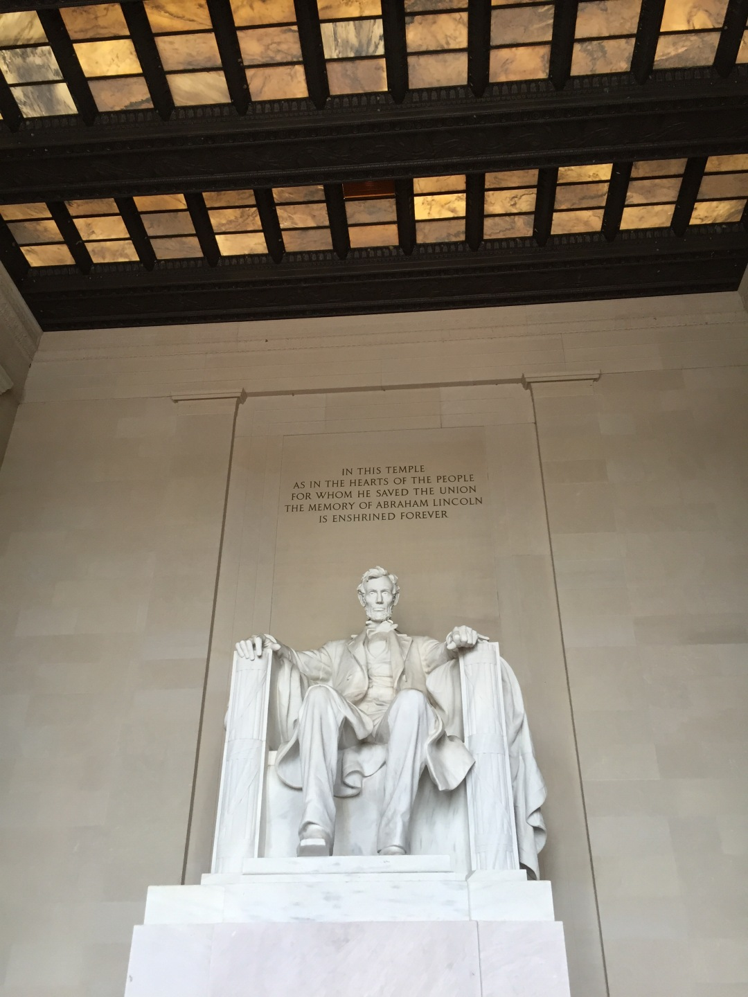the Lincoln Memorial in DC
