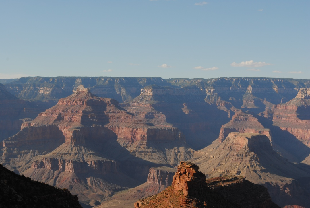 hiking in Arizona in the Grand Canyon