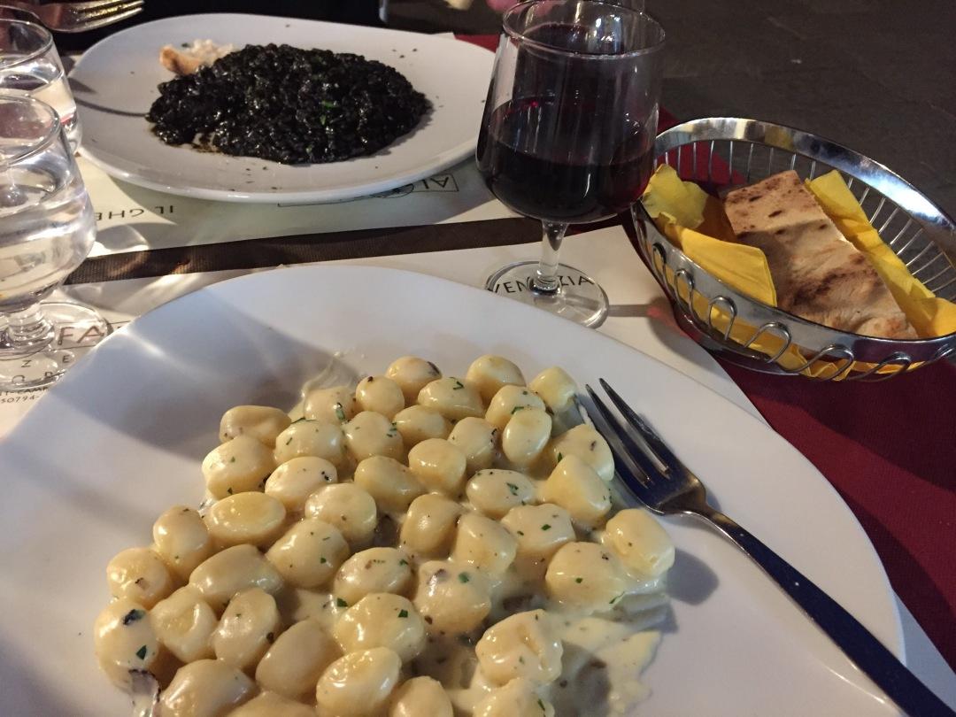 ristorante al faro pasta in Venice