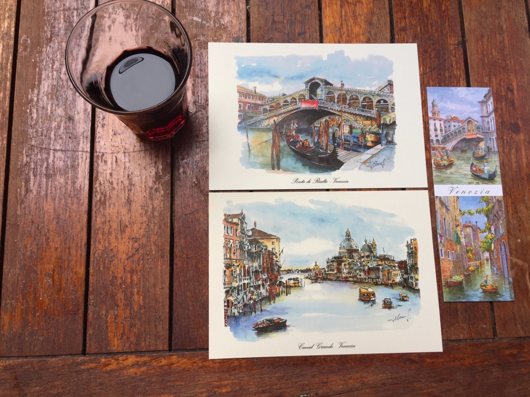 venice and rome travel tips drawings