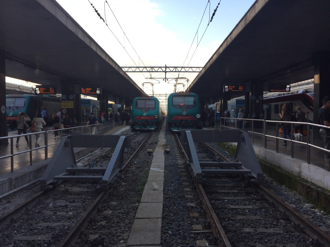 taking the train in Germany