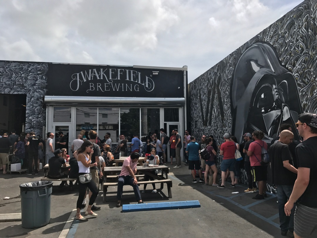 J wakefield brewing in Miami to drink