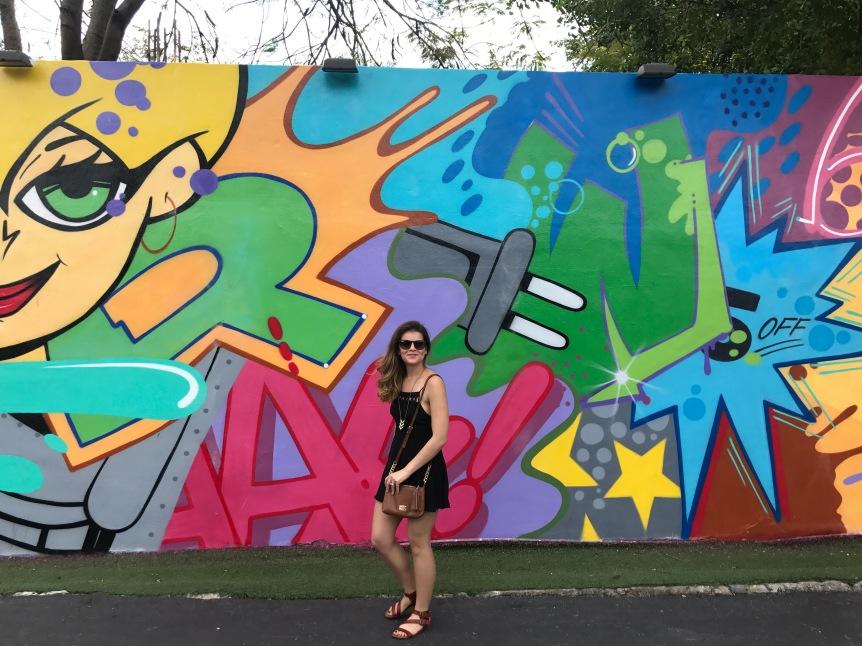 exploring Wynwood in Miami