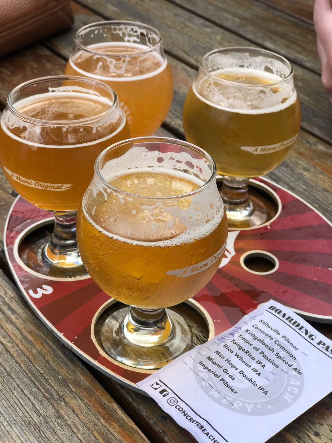 concrete brewery eat and drink in Miami