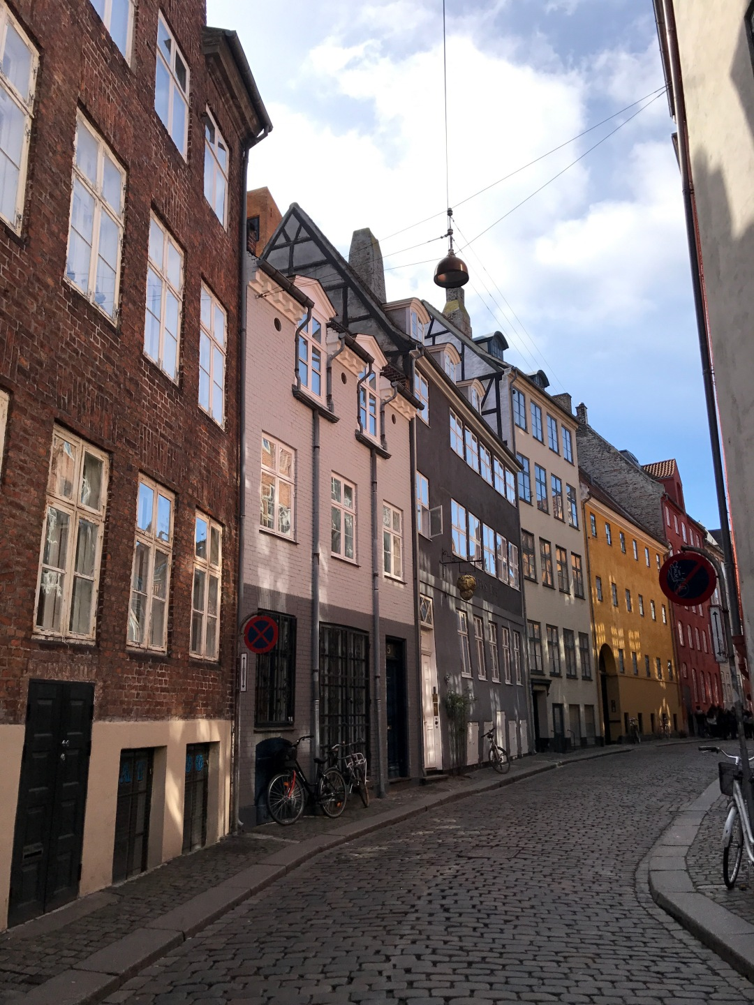 Magstraede street oldest street in Copenhagen