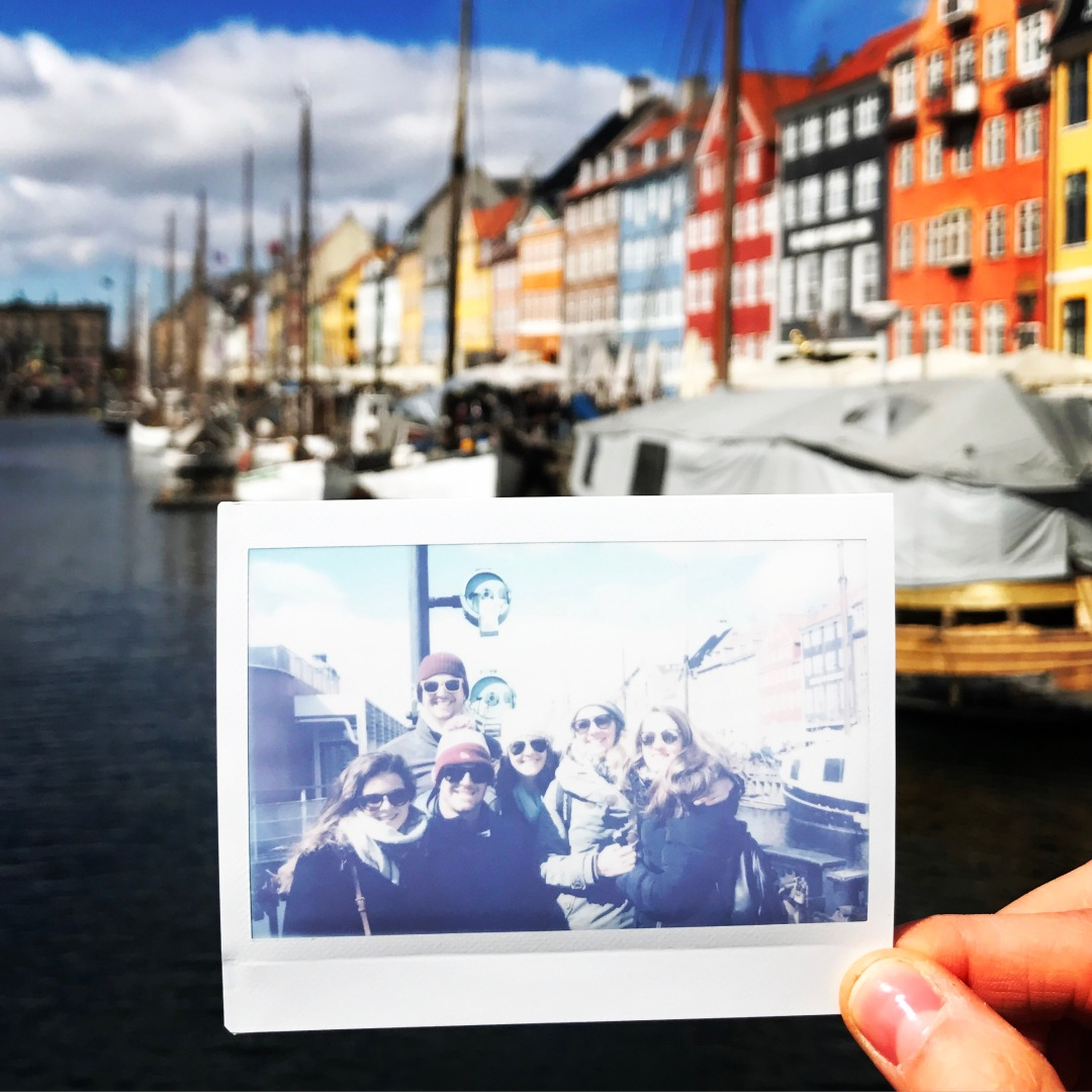 photo of friends in Copenhagen