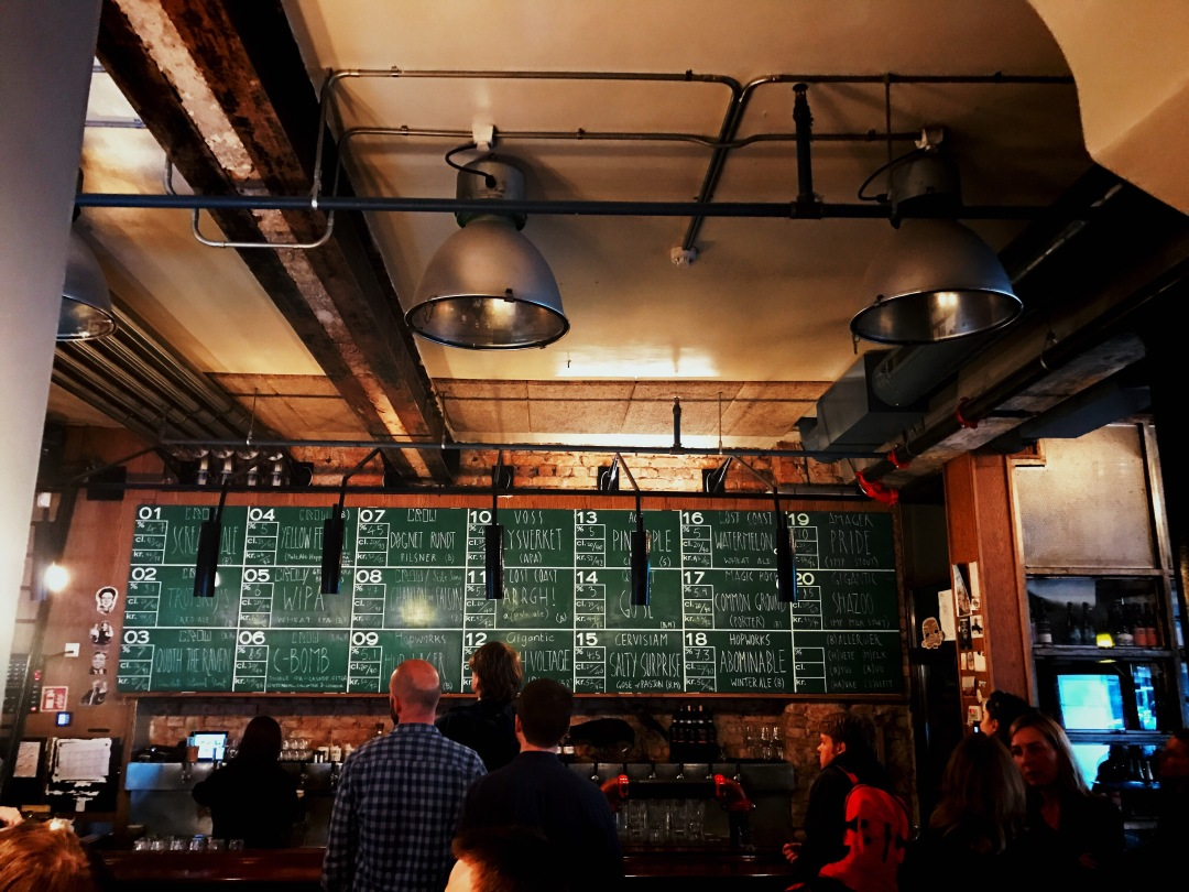 Crow Bar and Bryggeri Oslo things to do