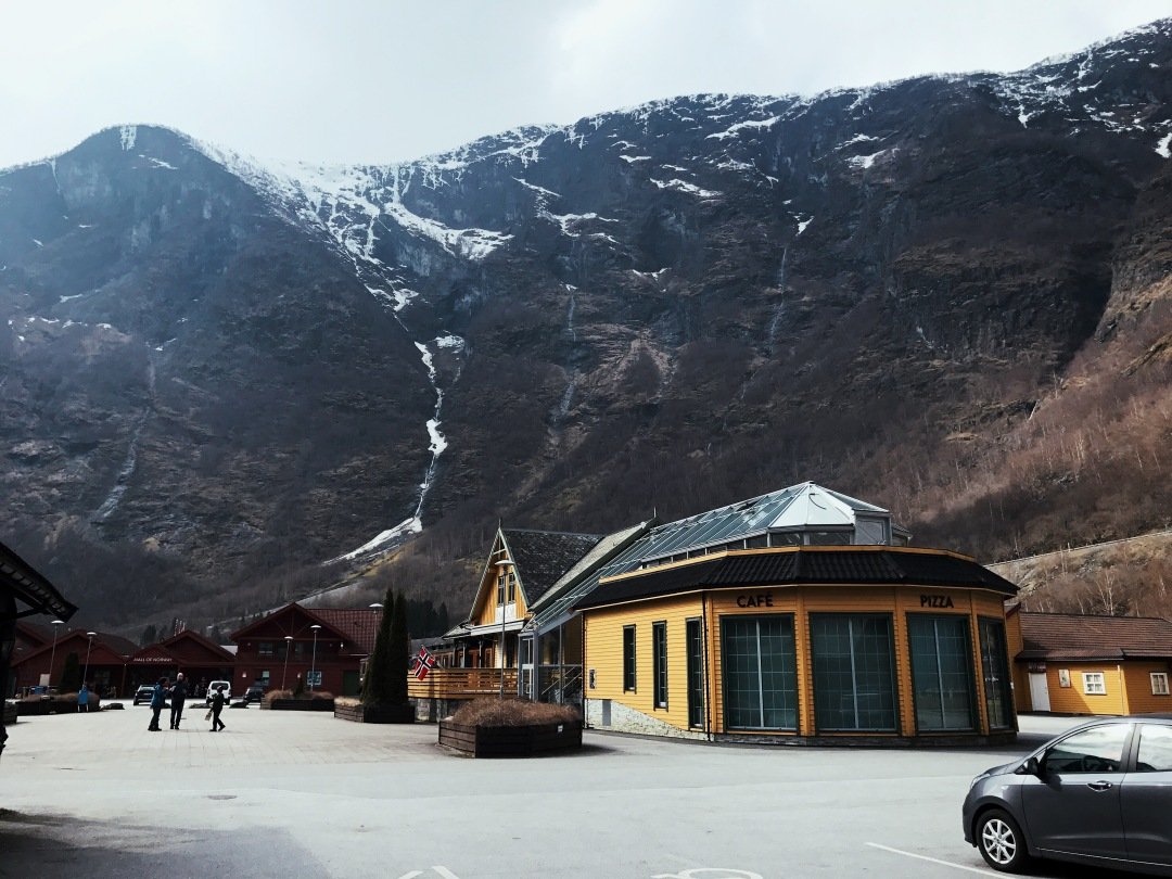 see the fjords from Bergen in Flam