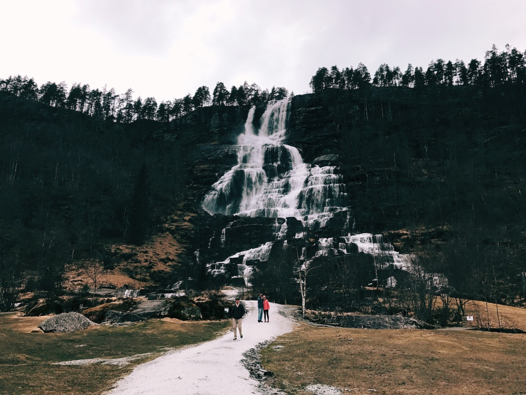 see the fjords and waterfalls from Bergen