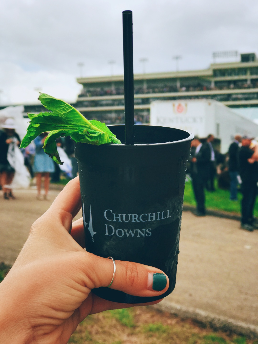 Kentucky Derby mint julep